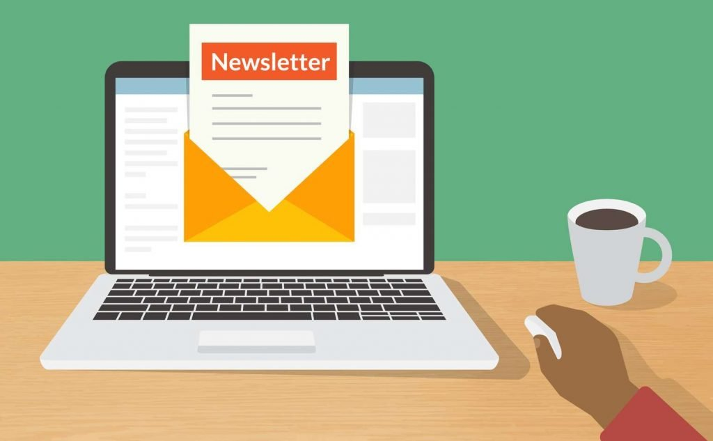 newsletter boletín de noticas e-commerce