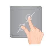 alejar pantalla chromebook