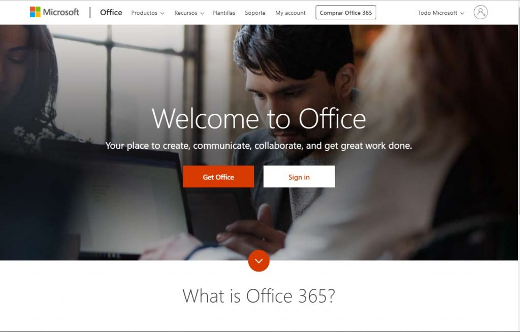 ingresar a office gratuito